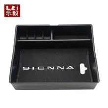 Für Toyota Sienna 2011 2012 2013 2014 2015 2016 2017 Nicht-Slip Matte In Zentrale Armlehne Container Halter Verstauen box Zubehör