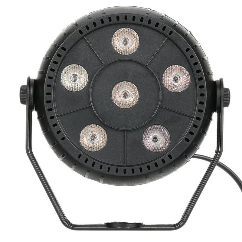 HHO-Mini 13W Dj Laser Disco Ball Stage Light 6 Led Rgb Effect Portable Stage Par Light Auto Sound Activation Indoor Disco Lamp E