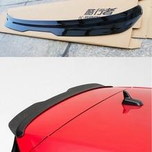 For Volkswagen GOLF MK7 MK7.5 Spoiler 2014 2018 GOLF 7 GOIF 7.5 Spoiler High Quality ABS Material Car Rear Wing Color Rear