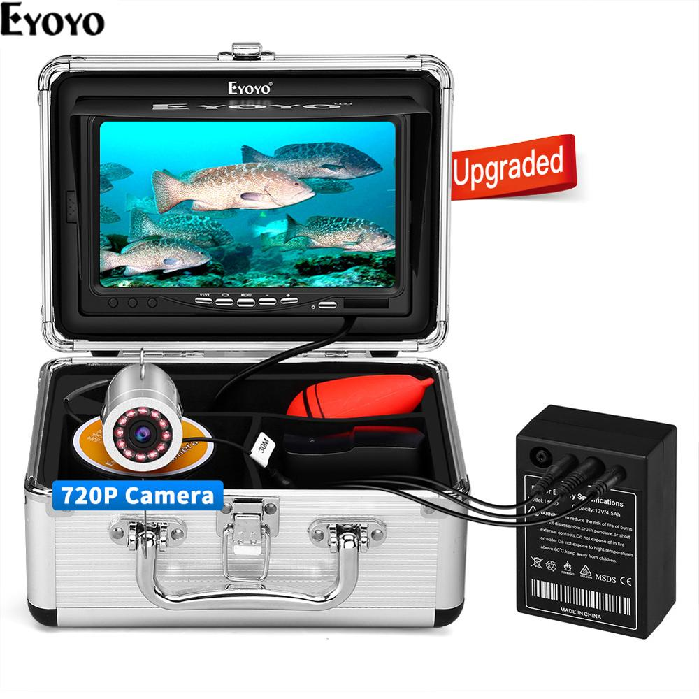 Câmera de Pesca Monitor de Pesca Inventor de Peixes p para a Pesca Mar de Gelo Eyoyo Subaquática Ips no Gelo Câmera Upgrated 720 Ef07h 7 1024×600 Mod. 95281