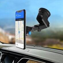 앞 유리 중력 빨판 자동차 전화 홀더 아이폰 7 8 x xs 최대 홀더 자동차 모바일 지원 스마트 폰 스탠드