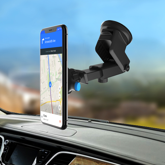 Windshield Gravity Sucker Car Phone Holder For iPhone 7 8 X XS MAX Holder For Phone In Car Mobile Support Smartphone  Stand