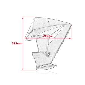 Image 4 - MT 07 FZ 07 액세서리 라디에이터 사이드 스포일러 패널 스쿠프 커버 가드 Fairing for 2014 2018 Yamaha MT 07 FZ 07 MT07 FZ07
