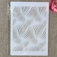 Layering Stencils Embossing-Album-Decorative-Template Wall-Painting Texture Scrapbook-Coloring