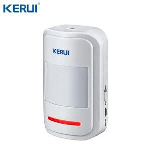 Image 4 - Kerui w20 2.4 inch tft tela colorida wifi gsm sistema de alarme de segurança em casa conjunto rfid cartão app controle detector de movimento assaltante alarme