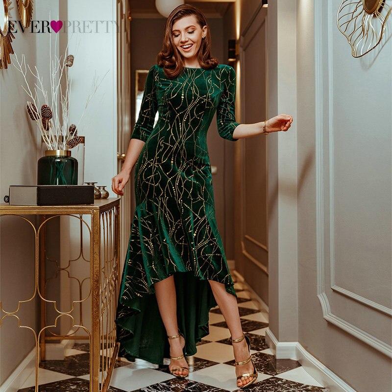 Купить вечерние платья женские вечерние с круглым вырезом элегантные