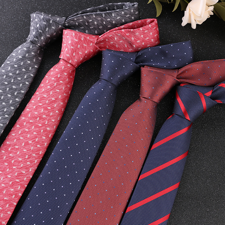 Business Tie Trendy Groom Lawyer Professional Men's Gentleman 7cm Fashion Suit Interview Banquet Wedding Necktie Gifts