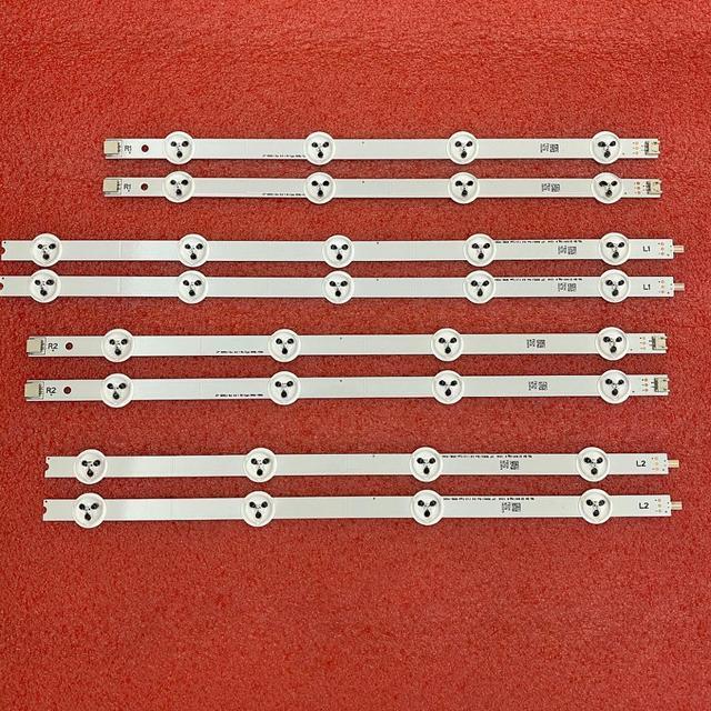 8 قطعة LED شريط إضاءة خلفي ل LG 37LN540U 37LA613V 37LA615V 37LN540B 37LN540R 37LN540S LATWT370R 37LN541U 6916L 1137A 1138A 39 40