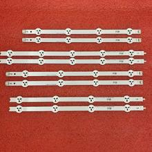 8 sztuk listwa oświetleniowa LED dla LG 37LN540U 37LA613V 37LA615V 37LN540B 37LN540R 37LN540S LATWT370R 37LN541U 6916L 1137A 1138A 39 40