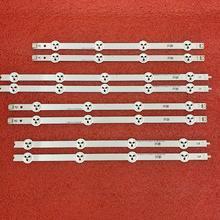 8pcs LED backlight strip for LG 37LN540U 37LA613V 37LA615V 37LN540B 37LN540R 37LN540S LATWT370R 37LN541U 6916L 1137A 1138A 39 40