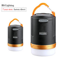 Neue Design Multifunktions Camping LED Licht USB Aufladbare Im Freien Wasserdichte Lampe Tragbare Power Bank Laterne mit Fernbedienung