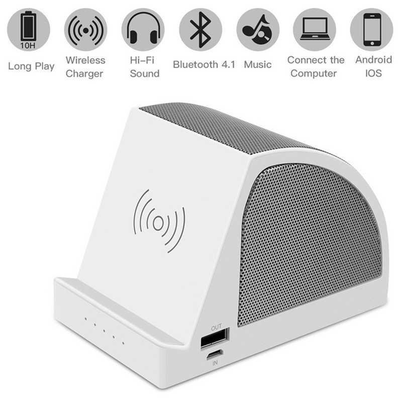Bt-A1 Portable Nirkabel Pengisian USB Pengisian Port Multi-Fungsi Mobile Stand Mini Subwoofer Bluetooth V 4.1 Speaker 40Ap01