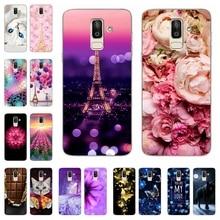 купить For Samsung Galaxy J8 J6 J4 2018 Case Silicone Cover For Samsung J 6 8 4 Plus 2018 600 610 4 810 400 415 F J 810 Phone Cases недорого