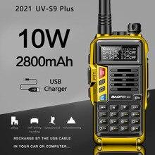 2021 BaoFeng UV S9 Plus Powerful Walkie Talkie CB Radio Transceiver 8W/10W 10km Long Range Portable Radio For Hunt Forest City