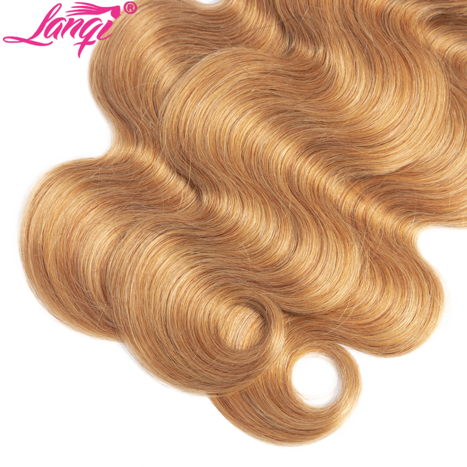 Body Wave bundles 12-26 Inch 1b 27 blonde Ombre Human Hair Bundles Peruvian brazilian hair weave Bundles Deals Non Remy hair extension