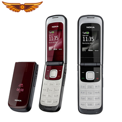 Original Nokia 2720 Unlocked Mobile Phone Nokia 2720 Refurbished Fold Cell Phone with Russian Keyboard Fast Shipping