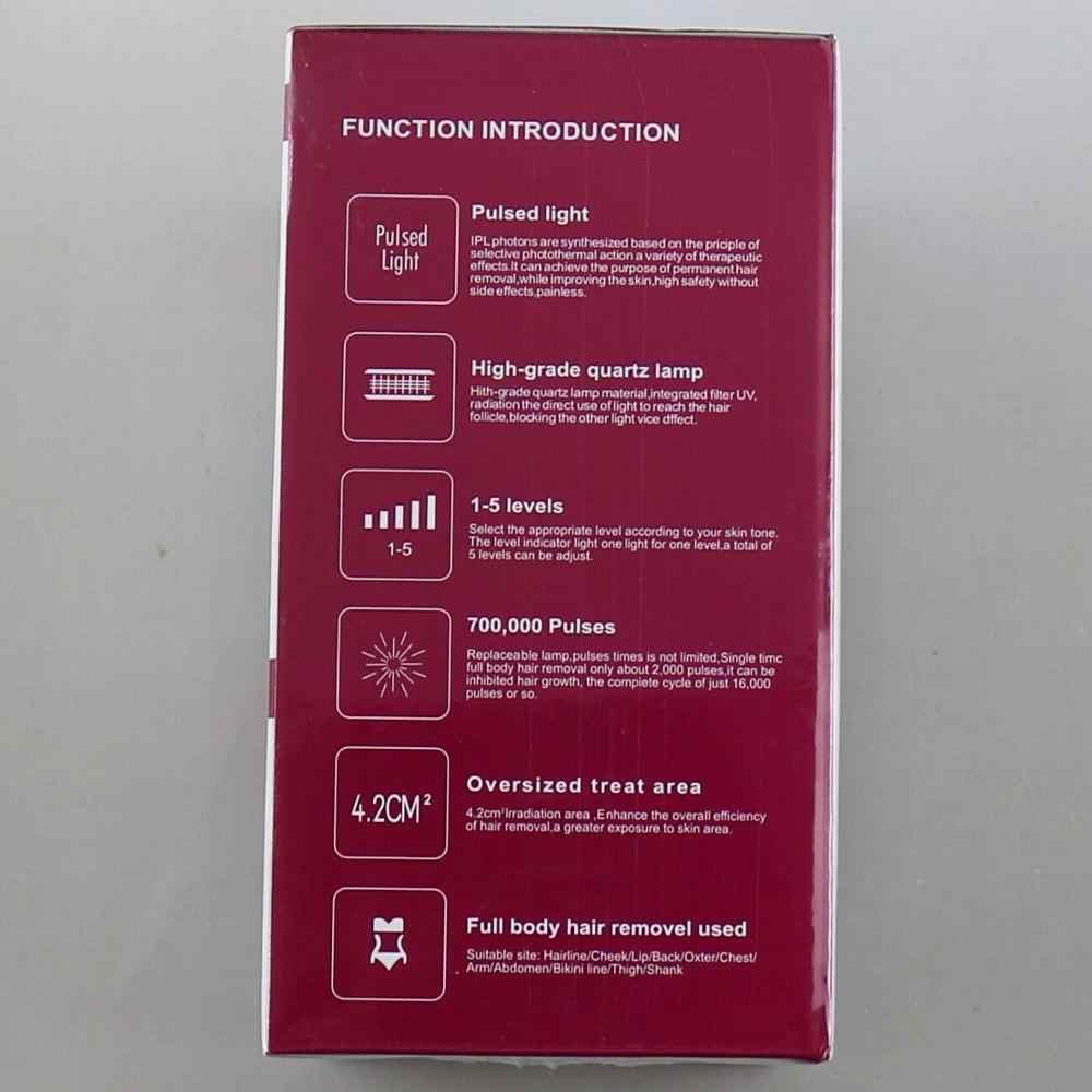 IPL лазерный эпилятор для женщин, фотоэпилятор для лица, лазерная эпиляция, устройство для депиляции ног