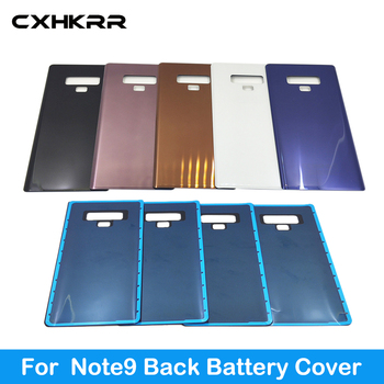For Samsung Galaxy note9  Back Battery Cover Case 3D Glass For Samsung Note 9 Case Door Rear Housing Cover 10pcs lot for samsung galaxy core prime g360 g360h g360f housing battery cover door rear chassis back case housing replacement