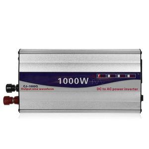 Image 4 - 1Set LED Display 1000W Pure Sine Wave Power Inverter 12V/ 24V To 220V Converter Transformer Power Supply Inverter