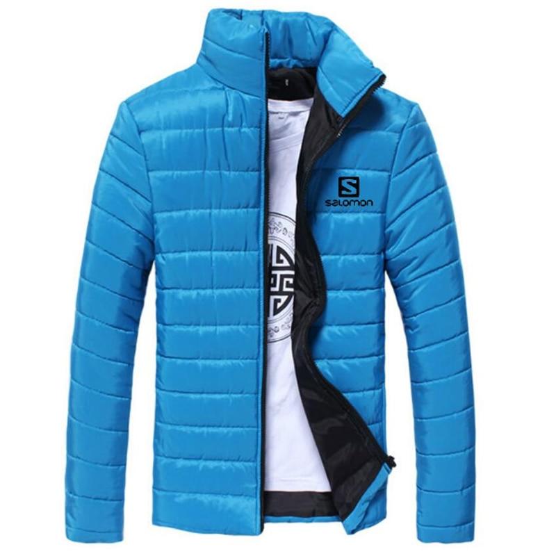Mens Light Windbreaker Jacket Slim Fit Winter Jacket Men Parka Coat Streetwear Men Bomber Jacket Male Sportswear Autumn Jacket