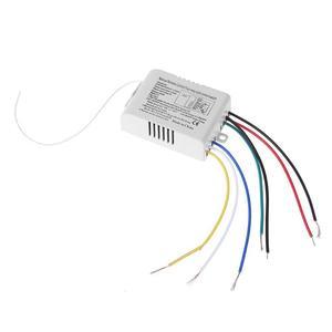 Image 4 - 4 Relais 220V Draadloze Afstandsbediening Schakelaar On/Off 220V Lamp Light Digital Wireless Muur Remote Switch ontvanger Zender Voor
