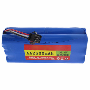 цена на replacement Ni-MH 2500 mAh Battery for Seebest D730 Seebest D720 robot Vacuum Cleaner Parts