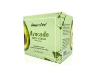 Avocado Body Scrub Exfoliating Scrub Deep Cleansing Pore Acne Treatment Exfoliating Gel Brightening Avocado Whitening Body Scrub 4