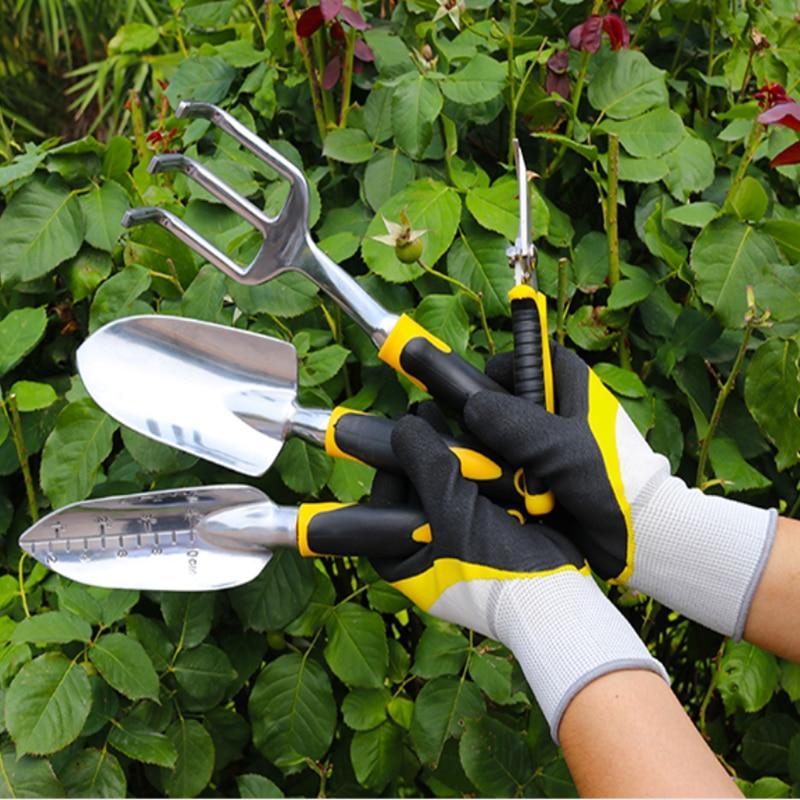 Shovel Garden Wooden-Handle Planting Flower New Stainless-Steel