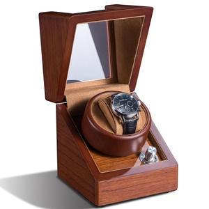 Watch-Winder Case Battery Mechanical Rotator Winding Automatic Single-Wood Box 1 Cabinet
