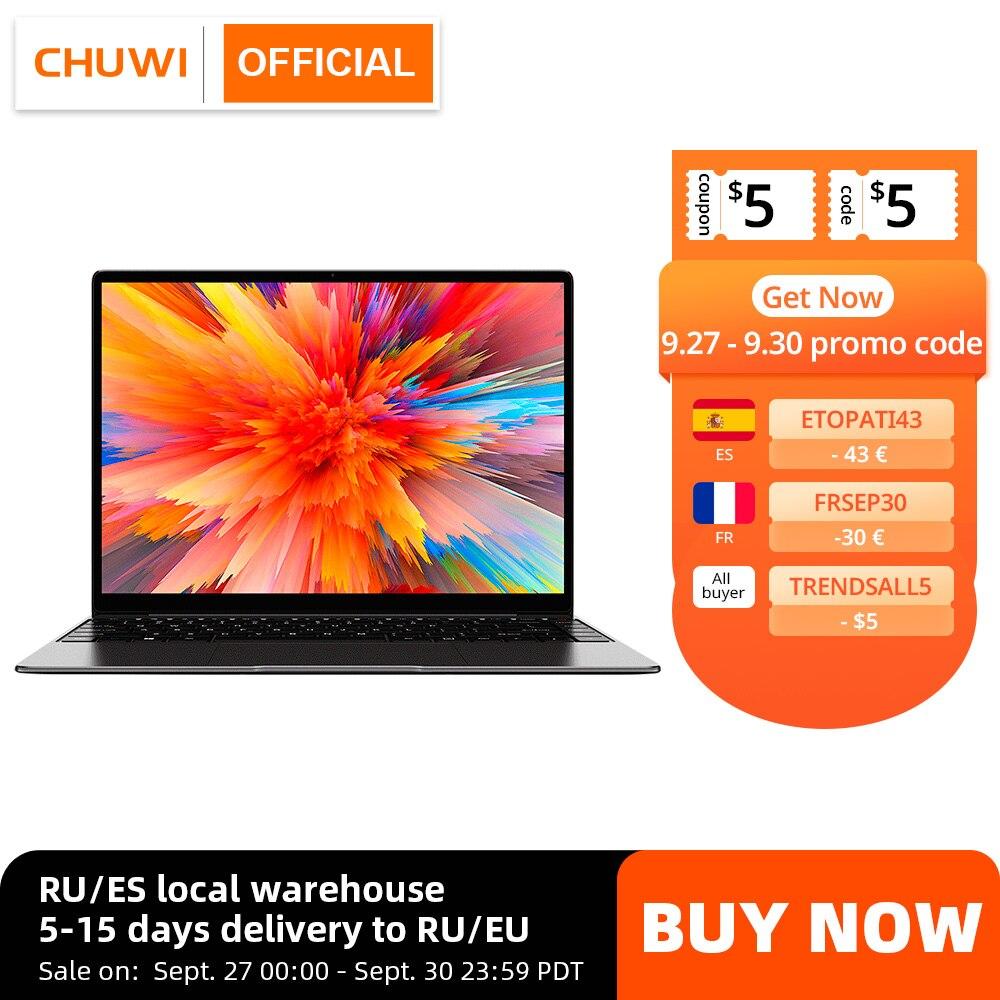 "CHUWI CoreBook X 14"" 2K Screen Intel Core i5 8259U Iris Plus Graphics 655 GPU 8GB RAM 512GB SSD Windows 10 Laptop Laptops  - AliExpress"