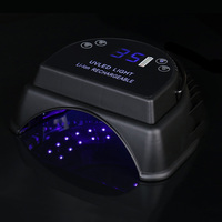 UV LED Lamp For Nail Gel Polish Phototherapy Machine 64 W Professional Ice Lamp for Manicure Rechargeable Portable Nail Dryer