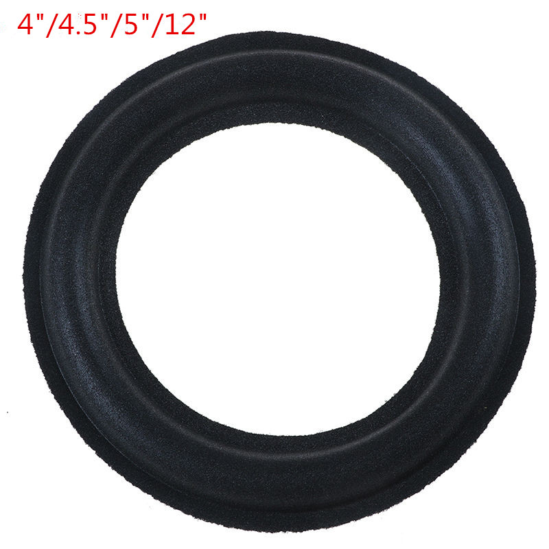 Universal 3/ 4/4.5/5/12 Inch Speaker Foam Surround Foam Edge Sponge Speaker Repair Parts Speaker Foam Repair Folding Edge Ring