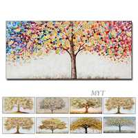 New Arrival Oil Painting 100% Handmad Wall Art Home Decor Picture Modern Hand Painted Oil Painting On Canvas Wedding Decoration