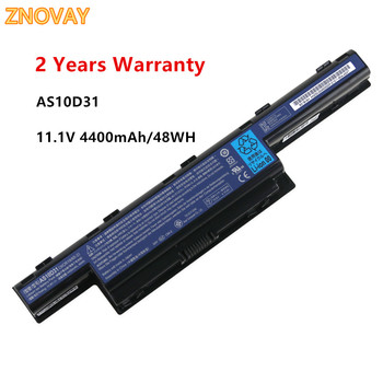 11.1V 4400mAh AS10D3E Laptop Battery For Acer Aspire V3 5741 5742 5750 5551G AS10D51 AS10D61 AS10D71 AS10D75 AS10D81 AS10D31 laptop battery for acer aspire 4250 4333 4551 4741 4743 5250 5253 5336 5552 5733 5741 5742 5750 5755 travelmate 5735 5740 5742