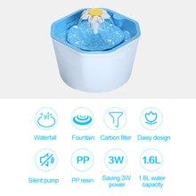 Bowl Water-Fountain Feeder Drinker Pet-Drinking-Fountain-Dispenser Pet-Cat Automatic