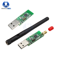 Беспроводной CC2531 анализатор протокол пакета модуль USB интерфейс ключ захвата пакет с антенной