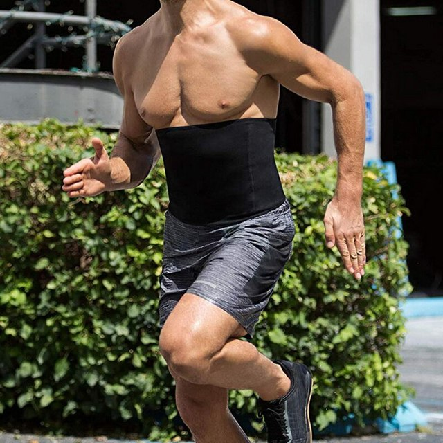Compression Body Shaper Belt Gym Slimming Belly waist support Belt Fat Burning Weight Loss Waist Sweat waist Trainer protector 3
