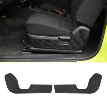 2Pcs/set Car Front Seat Chair Side Decoration Stickers Cover For Suzuki Jimny 2019+ Interior Car Styling Accessory