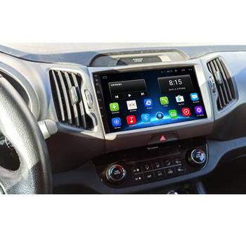 2020 4G LTE android 10 car dvd for KIA sportage 2011 2012 2013 2014 2015 headunit gps navigation car multimedia player image