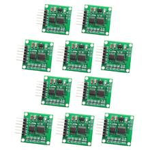 10pcs Current to Voltage Signal Module 4-20MA to 0-5V Linear Conversion Transmitter signal isolation transmitter current voltage transmitter multiple input multiple output 4 20ma 0 5v 0 10v