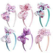 2019 New Childrens Hair Band Cartoon Bow Headband Unicorn Pony Party Decoration Headdress