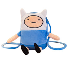 Stuffed-Toys Swag Plush-Coin-Bag Advanture Crossbody-Bag Jake-Figure Anime Children Finn
