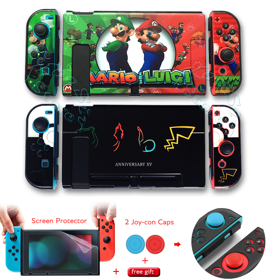 Nintendos Nintend Switch Protective Case Screen Protector Film Nintendo_Switch Shell Nintendoswitch Cover for Nintendo Switch(China)