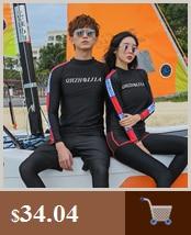 windsurf mergulho feminino divisão secagem manga longa surf