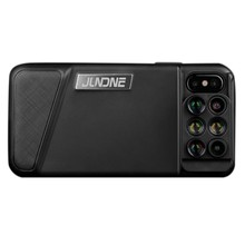 JUNDNE for iPhone X Camera Lens, 6-In-1 Dual Camera Lens Kit [160 Degree Fisheye, 0.65X Super Wide Angle, 10X / 20X Macro, 3X Zo(China)