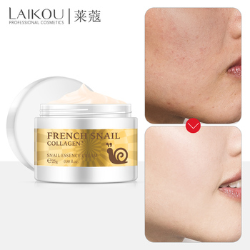 LAIKOU NEW Anti Wrinkle Anti Aging Snail Moist Nourishing Serum Facial Cream Imported Raw Materials Skin Care Wrinkle Firming anti wrinkle anti aging snail moist nourishing facial cream cream imported raw materials skin care wrinkle firming snail care