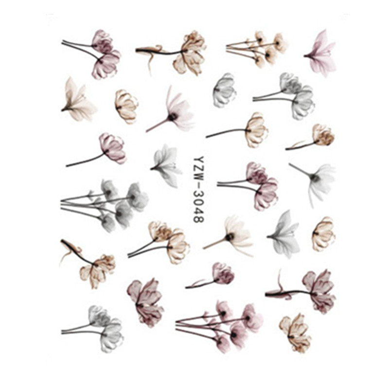 3D рельефная наклейка для ногтей, цветок, клейкая лента для самостоятельного маникюра, слайдер для ногтевого дизайна, декоративные переводки, Переводные переводки для маникюра, наконечники|Стикеры и наклейки| | АлиЭкспресс