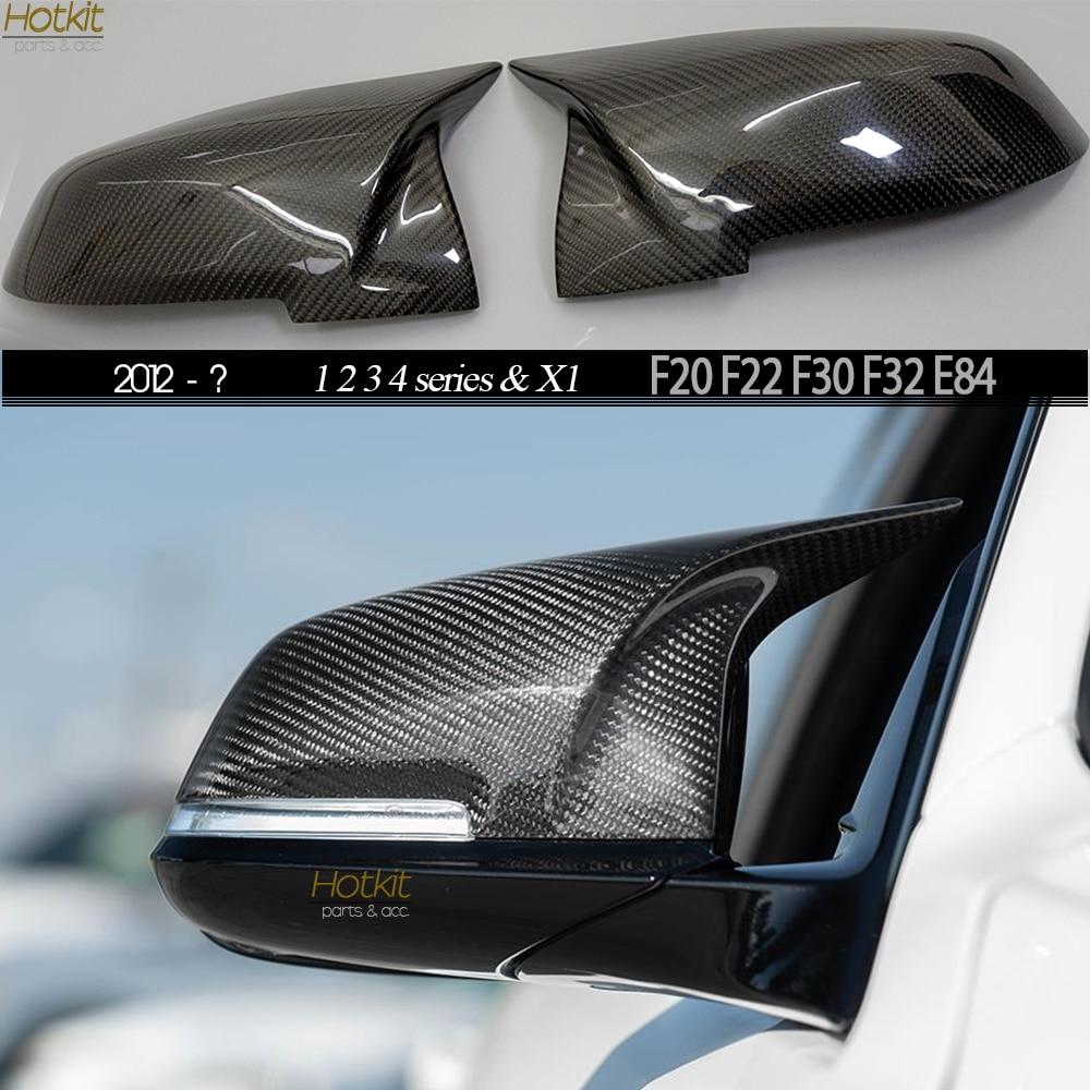 2015 M4 Look, Сменные крышки для зеркала из углеродного волокна для BMW 1 2 3 4 серии F20 F22 F30 F34 F32 F33 F36 E84 2012   ?|Зеркала и крышки|   | АлиЭкспресс