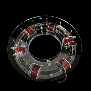 Image 3 - טבעת מאיץ ציקלוטרון ההייטק צעצוע פיזי דגם Diy ערכת ילדי מתנת צעצועים