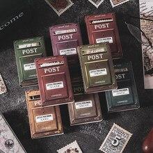 Journamm 100 sztuk Vintage znaczki rolka do czyszczenia ubrań na telefon Deco Retro artykuły biurowe śmieci Journal naklejki na etykiety Scrapbooking